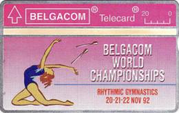 Belgique 1992. Belgacom World Championships, Rythmic Gymnastics - Sport