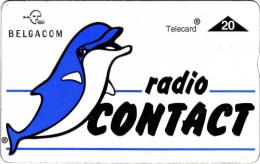 Belgique Vers 1992. Radio Contact, Dauphin - Dolphins