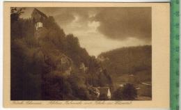 Fränk. Schweiz, Schloss Rabeneck Mit Blick Ins WiesentalVerlag: Karl Müller, Bayreuth, PostkarteErhaltung: I-II, Unbenut - Bayreuth