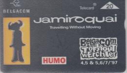 Belgacom  Torhout Werchter 1997    Jamiroquai   Humo - Musik