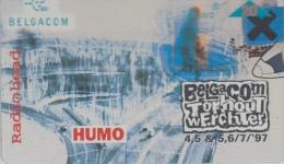 Belgacom  Torhout Werchter 1997   Radiohead    Humo - Music