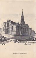 22488 JOSSELIN Basilique Notre Dame Du Roncier Projet De Restauration -ND - Josselin