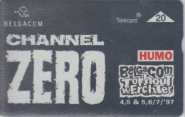 Belgacom  Torhout Werchter 1997   Channel Zero     Humo - Musique