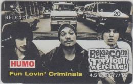 Belgacom  Torhout Werchter 1997   Fun Lovin´ Criminals      Humo - Musique