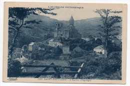 CP, 63, SAINT NECTAIRE, L'eglise, écrite En 1920 - Saint Nectaire
