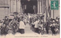 22493 Sainte Anne D'Auray (France) La Benediction 124 ND -eveque Sainte Bretagne - Non Classés