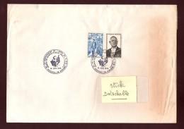 Lettre & Enveloppe Du 35è Anniversaire De L´appel Du Général  DE GAULLE - VASSIEUX EN VERCORS.26. Le 18 Juin 1975 - Guerre De 1939-45
