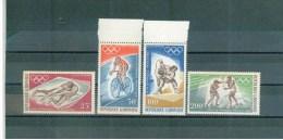 GABUN ,  Gabon , 1968 , ** , MNH , Postfrisch ,  Mi.Nr.308 - 311 - Gabun (1960-...)