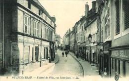 88 NEUFCHATEAU  L'Hôtel De Ville  , Rue Saint-Jean - Neufchateau