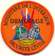 SECURITE CIVILE DEMINAGE  (POLICE) - Police & Gendarmerie