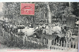 CPA 89 - VILLIERS SAINT BENOIT - Le Champ De Foires - Francia