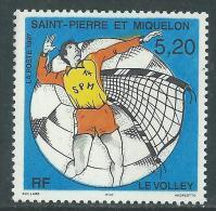 St Pierre Et Miquelon  N° 643 XX  Sport : Le Volley Sans Charnière, TB - Non Classificati