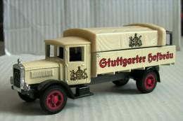 - Mercedes-Benz L5 Lorry Stutgarter Hofbrau - 1932 - Matchbox Y-6 - 1988 - 1:69 - Matchbox
