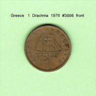 GREECE    1  DRACHMA  1976   (KM # 116) - Greece