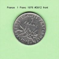 FRANCE    1  FRANC  1976   (KM # 925.1) - France