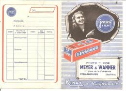 Porte-négatifs - GEVAERT FILM - GEVAPAN - Photographe Meyer Et Wanner à Strasbourg - Matériel & Accessoires
