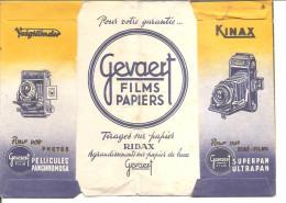 Porte-négatifs - GEVAERT FILM - KINAX-VOIGTLANDER - Photographe Meyer Et Wanner à Strasbourg - Matériel & Accessoires