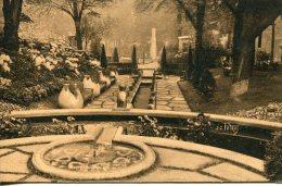 CPA -  PARIS - EXPO ARTS DECO 1925 - JARDIN REALISE PAR MOSER ET FILS, FLEURISTES - Expositions