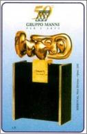 ITALIA: PRIVATA  - MANNI SCULTURA - Scheda NUOVA (MINT)  2000 - Italië