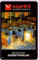 ITALIA: PRIVATA - MANNI OSSITAGLIO - Scheda NUOVA (MINT) 2000 - Italië