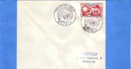 NOUVELLE CALEDONIE - NOUMEA - LETTRE - PREMIER JOUR - LOT DE 3 FDC - 1958 - 1959 - FDC