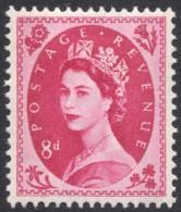 Great Britain, 8 P. 1967, Sc # 364p, Mi # 329yX, MH - 1952-.... (Elizabeth II)
