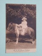 H. K. H. Prinses JULIANA ( Naar Eene Opname Van H.M. De Koningin ) Anno 19?? ( Zie Foto Details ) !! - Pays-Bas
