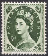 Great Britain, 9 P. 1967, Sc # 365p, Mi # 330yX, MH - 1952-.... (Elizabeth II)