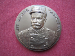 Médaille Militaire Andrè Maginot - 1914-18