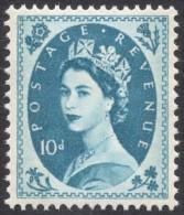 Great Britain, 10 P. 1967, Sc # 366p, Mi # 331yX, MH - 1952-.... (Elizabeth II)
