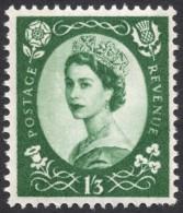 Great Britain, 1 S. 3 P. 1960, Sc # 368p, Mi # 333yX, MH - 1952-.... (Elizabeth II)