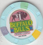 "USA - Buffalo Bill""s Casino, Chip $1 - Casino"
