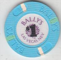 "USA - Bally""s Casino, Chip $1 - Casino"