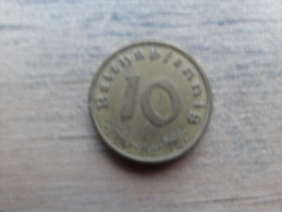 allemagne  10 reichspfennig  1938 a