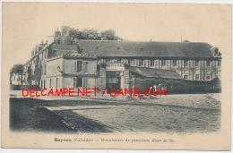 14 --- BAYEUX   Manufacture De Porcelaine Allant Au Feu - Bayeux