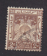 Kelantan, Scott #16, Used, Symbols Of Government, Issued 1921 - Kelantan