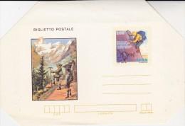 ITALIE -  LETTRE ENTIER POSTAL DE 1982  -THEMATIQUE : ALPINISME - Italy