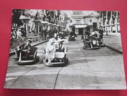"""CPSM:Paris 1900 """"Fête à Neuilly Auto Tamponneuses """"éditions D'art Yvon Photo Desoye Arcueil Noir & Blanc Brillant - Jeux Et Jouets"""