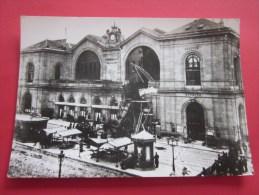 """CPSM:Paris 1900""""Gare Montparnasse 1895 Accident Train""""éditions D'art Yvon Photo Pollitzer Bourg-la Noir & Blanc Bril - Catastrofi"""