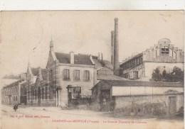 88-CHARMES-SUR-MOSELLE-La Grande Brasserie Animé 1921 - Charmes