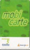 CARTE-MOBICARTE-ECHANTILL ON-5F-03/2000-FIN-12/2002-N° Lasers-NSB-NON GRATTE-TBE-RARE - France