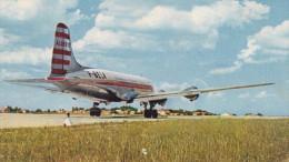 QUADRIMOTEUR DOUGLAS DC4 (CIE AIR ALGERIE)(dil76) - Avions