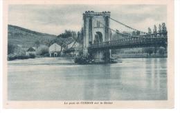 CPA PONT DE CORDON SUR LE RHONE 1932 - Puentes