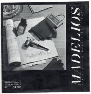 Catalogue Madelios, Vêtements Et Accéssoires Pour Hommes, Place De La Madeleine, Paris, Mode, Manteaux, Cravates... - Littérature