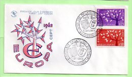 1° Jour, N° Yvert 1358 / 9   EUROPA , AIX EN PROVENCE - 1960-1969