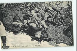 Chasseurs Alpins - Manoeuvres Alpines : Un Accident -  Ane Renversé - Edition Baffert - 2 Scans - Manovre