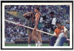CP Le Champion De Saut à La Perche Serguei Bubka,Jeux Olympiques De Barcelone,en 1992. (247) - Non Classés