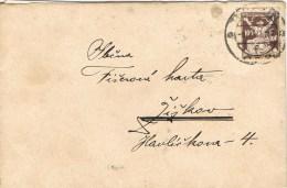 7197. Carta TERZSIN (Checslovaquia) 1922 - Checoslovaquia