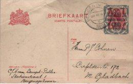 Pays Bas  Carte Entier Postal  1922 - Postal Stationery
