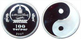 MONGOLIA 100 TUGRIK 2007 YIN YANG - Mongolia